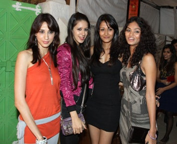models together - Alesia & Anjali Raut