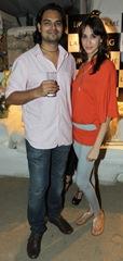 Rahul Mishra and Alesia Raut