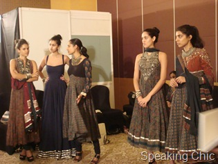 Models at Anita Dongre LFW