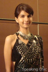 Model at LFW W/F 2010