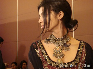 Necklace at Anita Dongre LFW