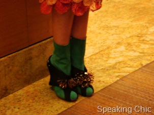 Shoes at Manish Arora LFW