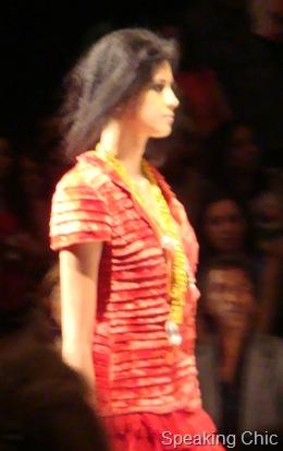 Model at Sailex LFW W/F 2010