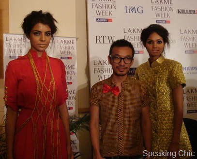 Sailex with models LFW