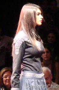 Black top and dress Arjun Saluja