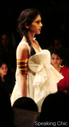 Model at Anuj Sharma Gen Next LFW