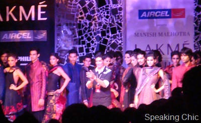 Manish Malhotra's show at LFW Mumbai