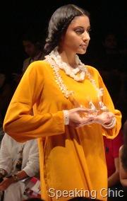 Eina Ahluwalia's LFW show