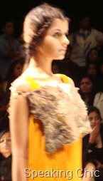 Eina Ahluwalia at LFW