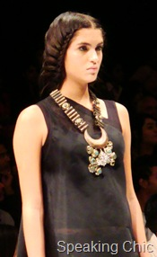Suhani Pittie neckpiece with crescent
