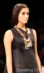 Suhani Pittie neckpiece with crescent
