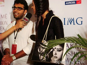 Devdas bag Rohan Arora with model