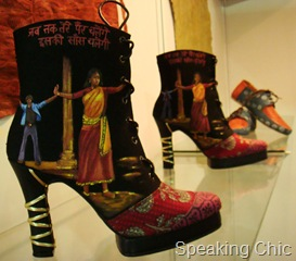 Rohan Arora's shoes at LFW