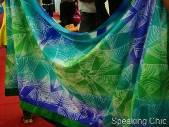 Nachiket Barve sari LFW