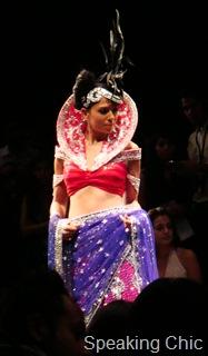 Neeta Lulla sari at LFW
