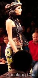 Malini Ramani outfit at LFW