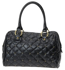 Aldo black quilted bag