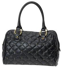 Aldo black quilted bag