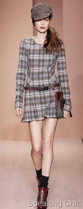DKNY plaid dress