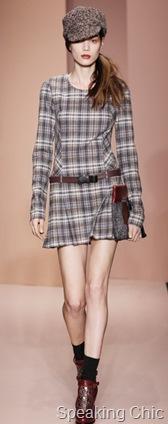DKNY plaid dress