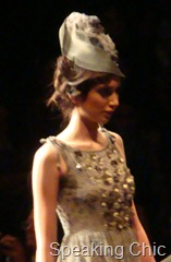 Model at Label by Ritu Kumar