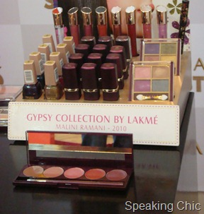 Lakme's Gypsy collection of makeup
