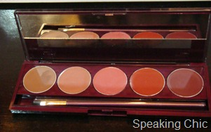 Lakme Gypsy collection lip palette