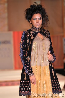 Zardosi jacket at Rohit Bal show