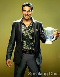 Akshay Kumar in floral shirt and blazer: MasterChef