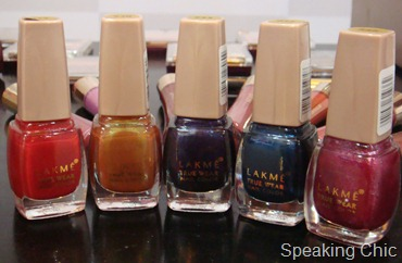 Lakme Gypsy collection nail polish