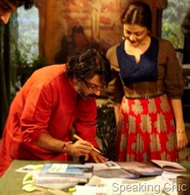 Aishwarya Rai Bachchan in Guzaarish with director