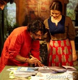 Aishwarya Rai Bachchan in Guzaarish with director