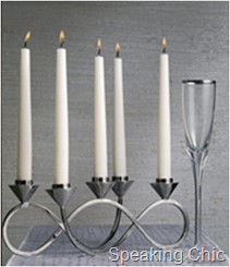 Looped candle holder from Marks & Spencer