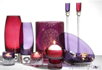 Decorative candle holders- Marks & Spencer