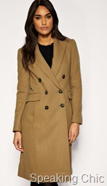 Mango camel coat winter 2010
