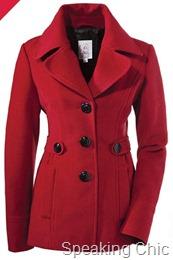 S. Oliver red coat