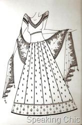Sara Khan lehenga by Vikram Phadnis option 1