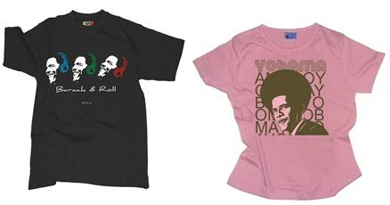 Obama Tantra tshirts