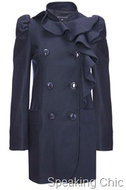 French Connection Winter Sun Wool Coat