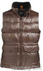 S Oliver brown bomber quilted jacket