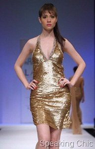 Arpan Vohra dress gold