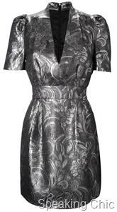 French Connection jacquard dress