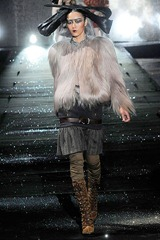 John Galliano fur