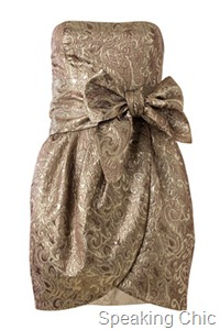 Mango jacquard dress