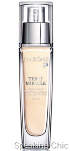 Lancome Teint Miracle Foundation makeup