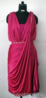 Vizyon pink dress