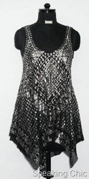 Vizyon black dress