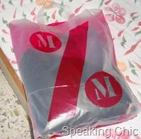 Mango sale shopping bag