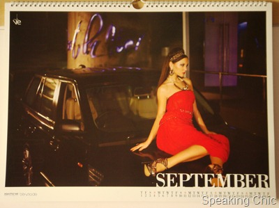 Tresmode calendar September