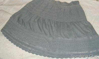 Zara grey skirt